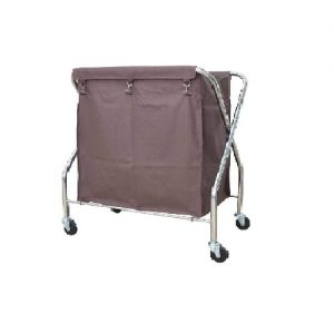 Stainless Steel X-2 Trolley: SLT-511/SS