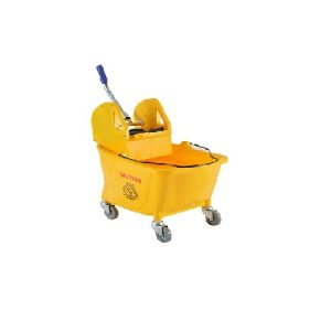 Single Mop Bucket C/w Down Press : OCIS SWB-DP