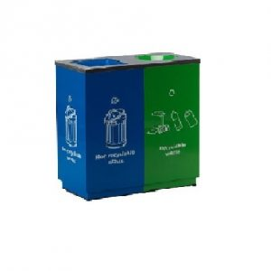 Stainless Steel Lid & Powder Coating Body : RECYCLE WIZARD